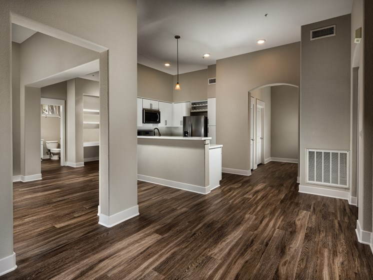 Wood Style Flooring at The Madison at Town Center, Valencia, CA, 91355
