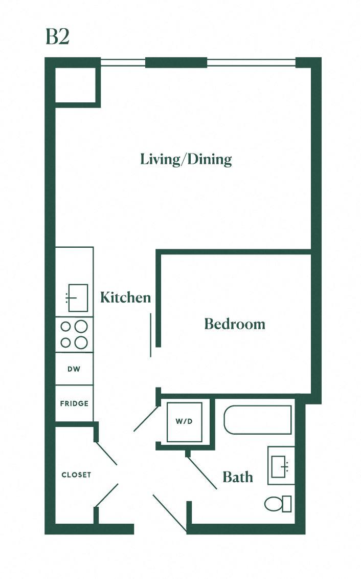 B2 One Bedroom