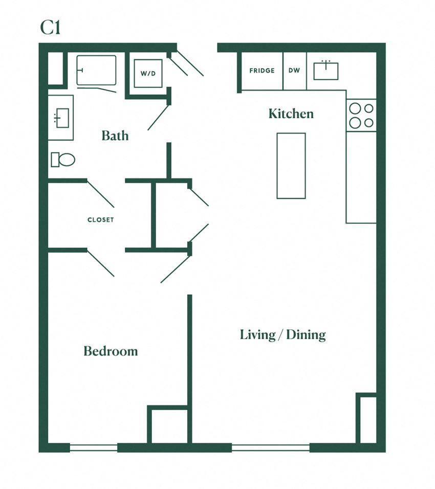 C1 One Bedroom