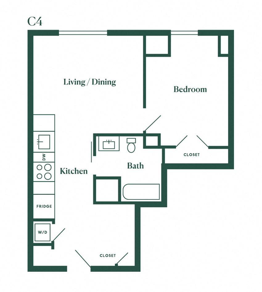 C4 One Bedroom