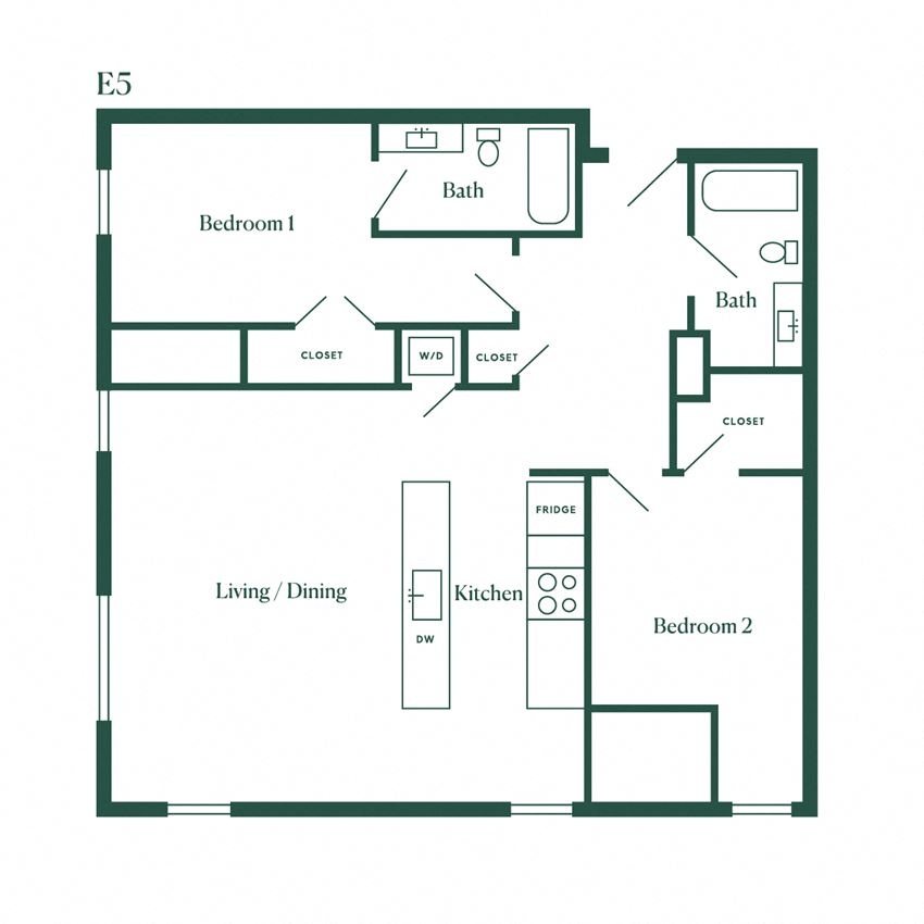 E5 Two Bedroom