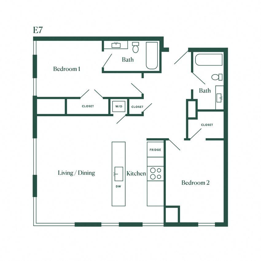 E7 Two Bedroom