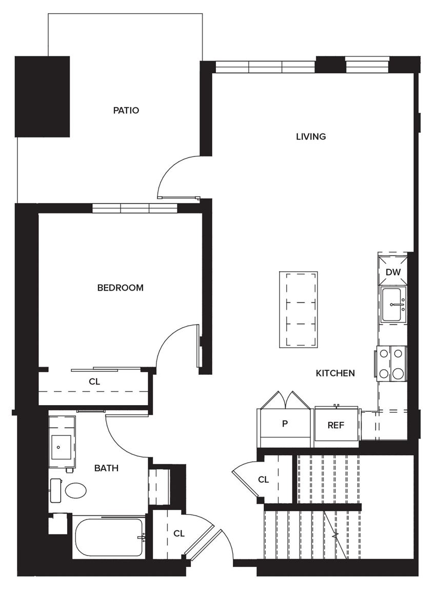 Townhome1a (First Floor)
