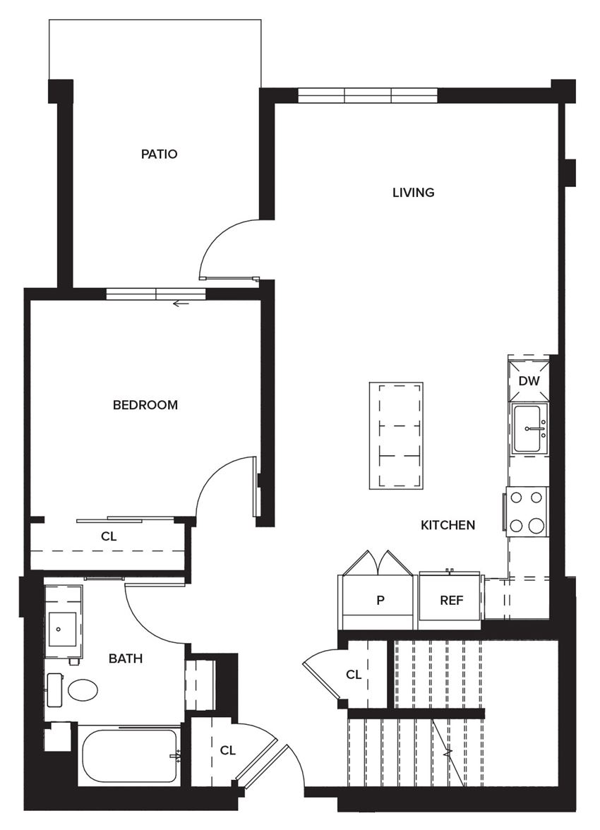 Townhome1b (First Floor)