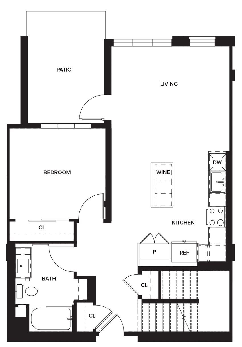 Townhome1 (First Floor)