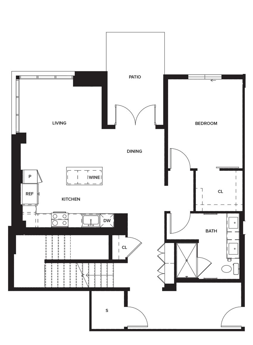 Townhome2 (First Floor)