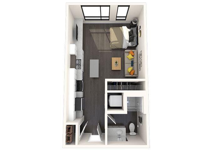 M6 Studio 453 SF