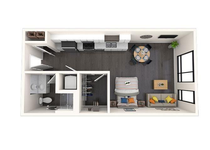 S1 Studio 518 SF