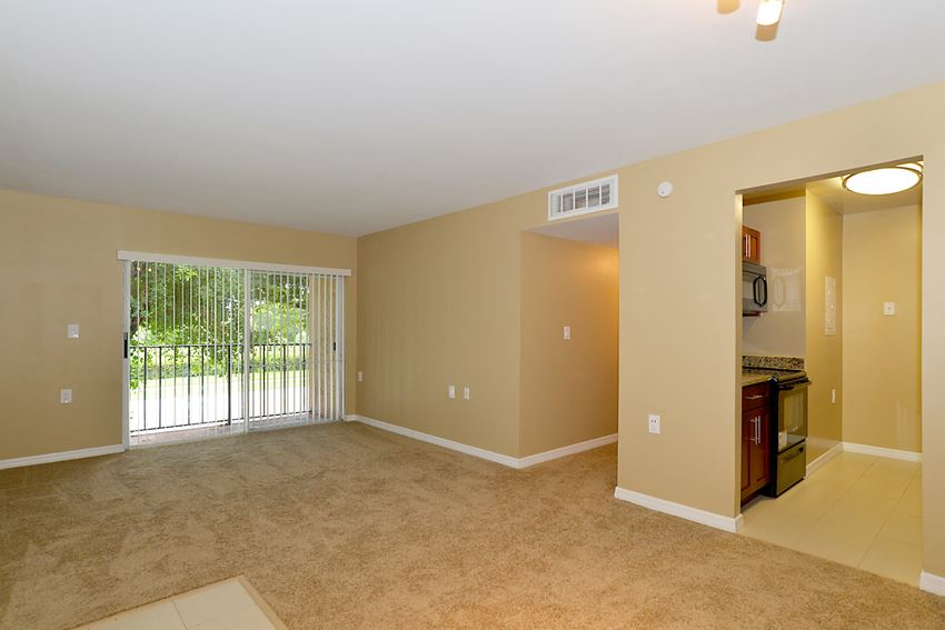 living Room  With ining Room at St. Andrews Palm Beach Apartments, Florida, 33411