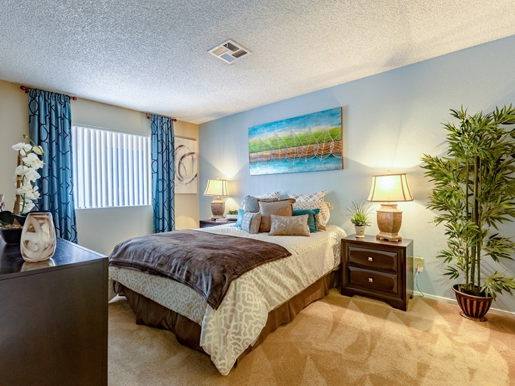 Comfortable Bedroom at Playa Vista Apartments, Pacifica SD Management, Nevada, 89110