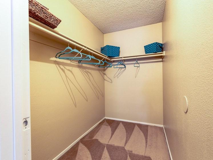 Large Walk In Closet at Playa Vista Apartments, PSDM, Las Vegas, NV, 89110