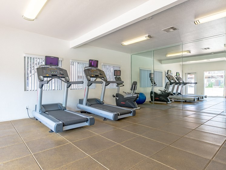 Interior Fitness Center at Playa Vista Apartments, Pacifica SD Management, Las Vegas, Nevada
