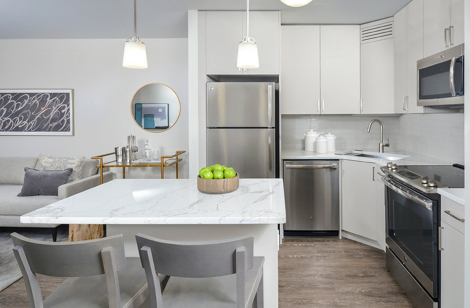Luxury Kitchen | River North | Renovated Apartments