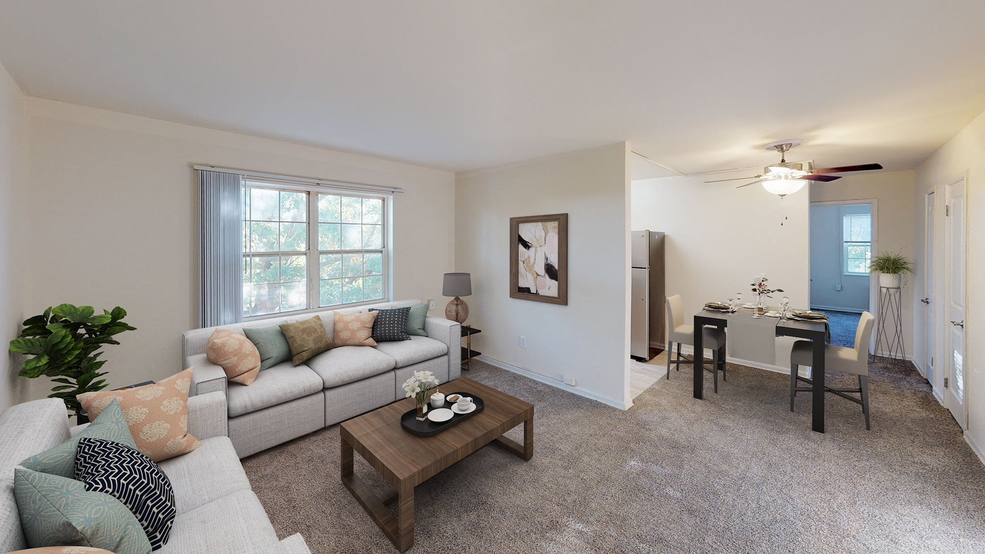 Manor-village-apartments-southeast-dc-carpeted-two-bedroom-livingroom
