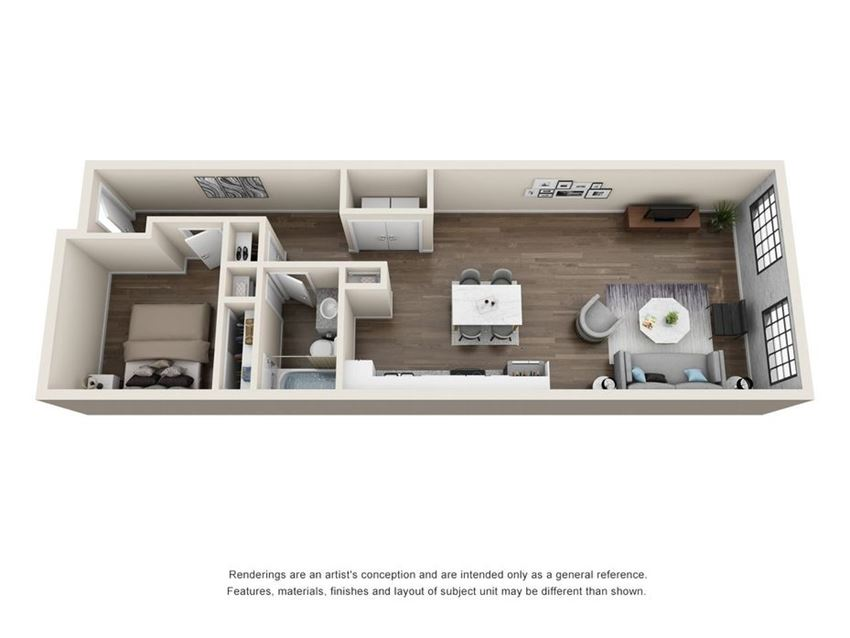 Bellevue Mill Apartments two bedroom apartment for rent hillsborough north carolina downtownHillsborough, NC
