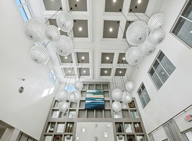 Clubhouse high celing at Inspira, Florida