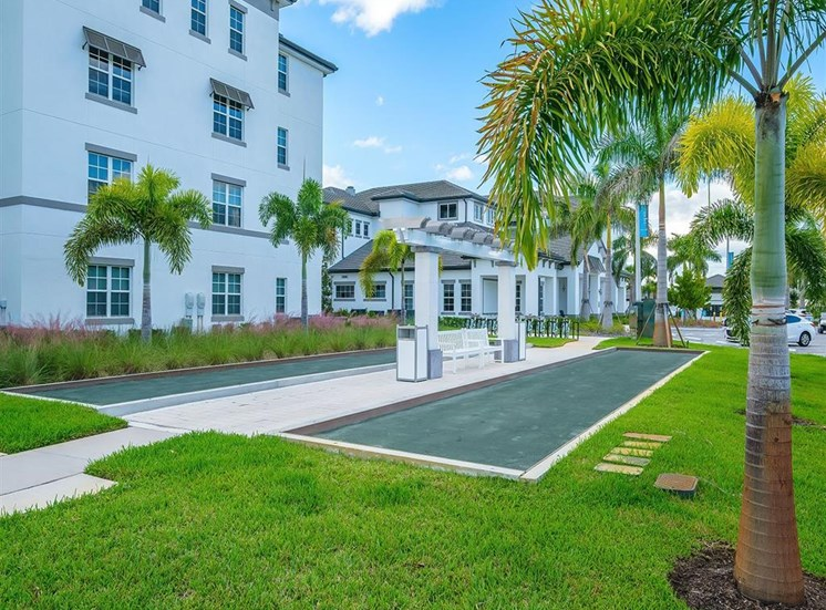 Bocce Courts at Inspira, Naples