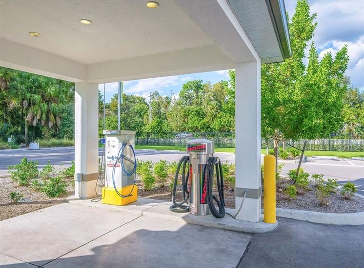 Car wash and vacuum station at Inspira, Naples, FL