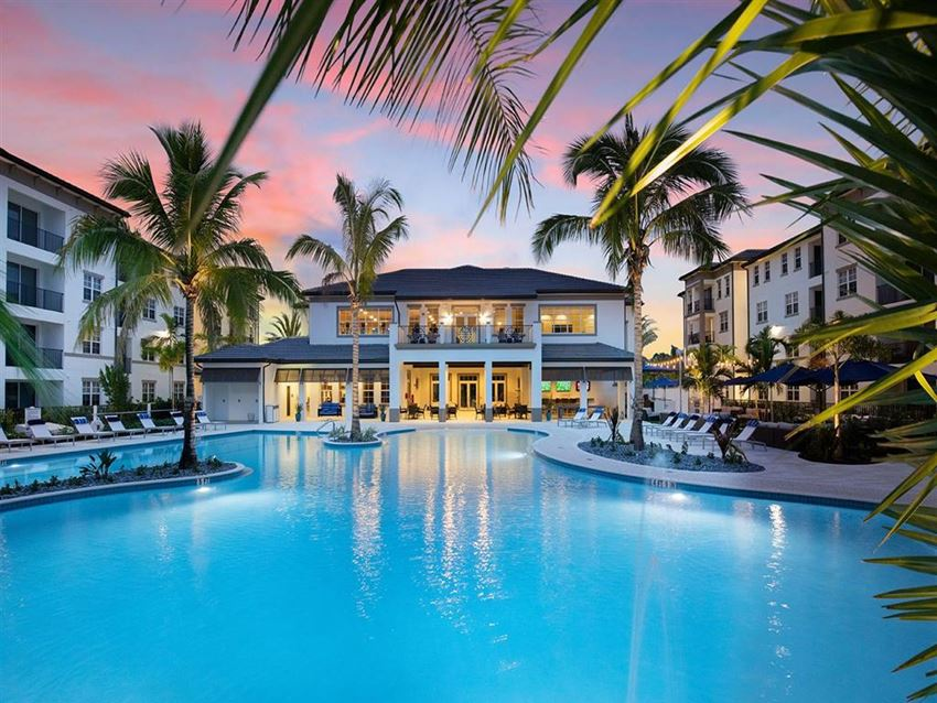 Pool at Inspira, Naples, Florida