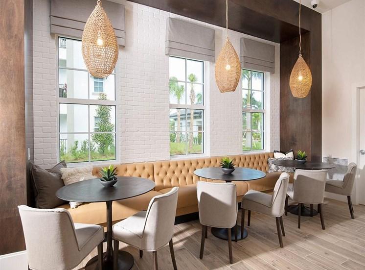 Resident Lounge seating at Inspira, Florida