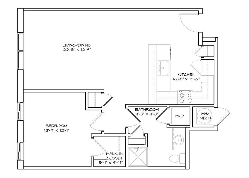 Fairview floor plan