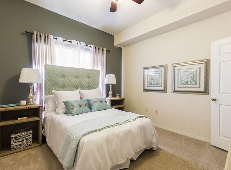 Bedroom in 1-Bedroom Model