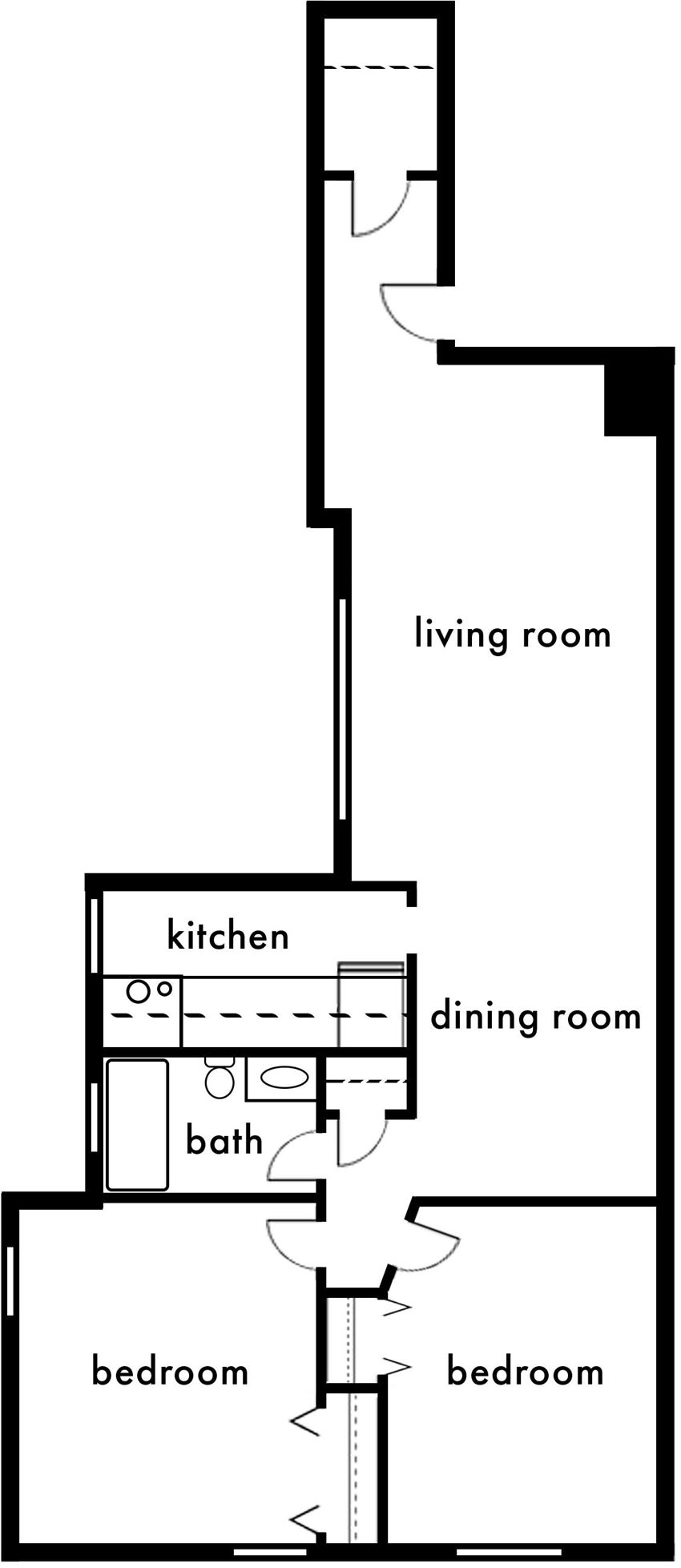 Two Bedroom- B1