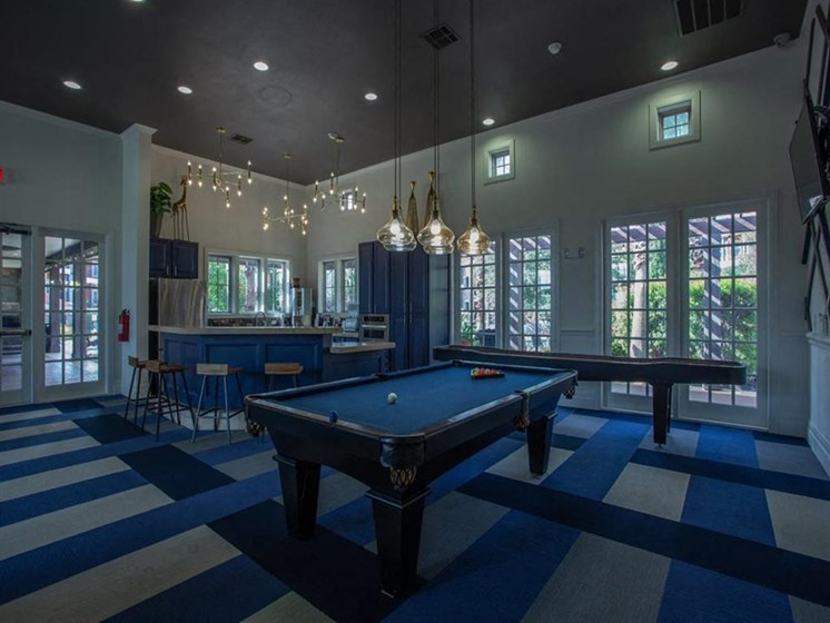 Pool Table In Game Room at Teravista, Texas, 78665