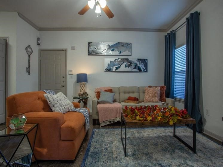 Expansive Living Room at Teravista, Round Rock, 78665
