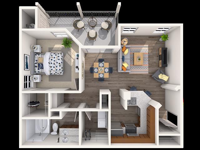Florence Floorplan at Teravista, Round Rock, 78665