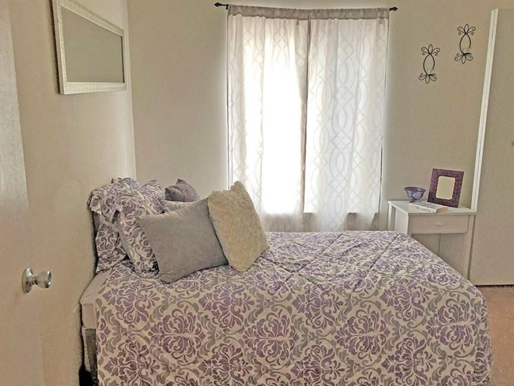 Spacious Bedroom With Closet at Walker Estates Apartments, Augusta, Georgia