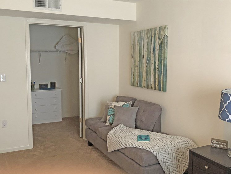 Walk-In Closet at Walker Estates Apartments, Augusta