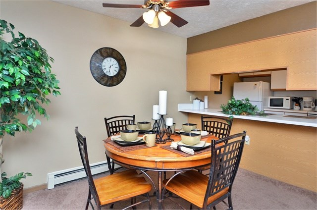 Dining Room Off Kitchen For Entertaining at Van Horne Estates Apartments, El Paso, 79934