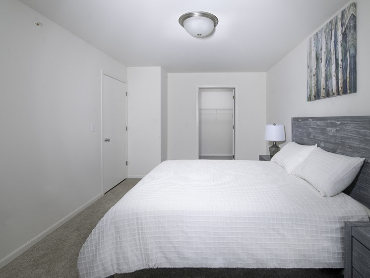 Bedroom With Closet at Steedman Apartments, MRD Conventional, Waterville, 43556