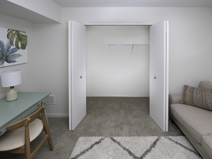 Large Closets at Steedman Apartments, MRD Conventional, Waterville, OH