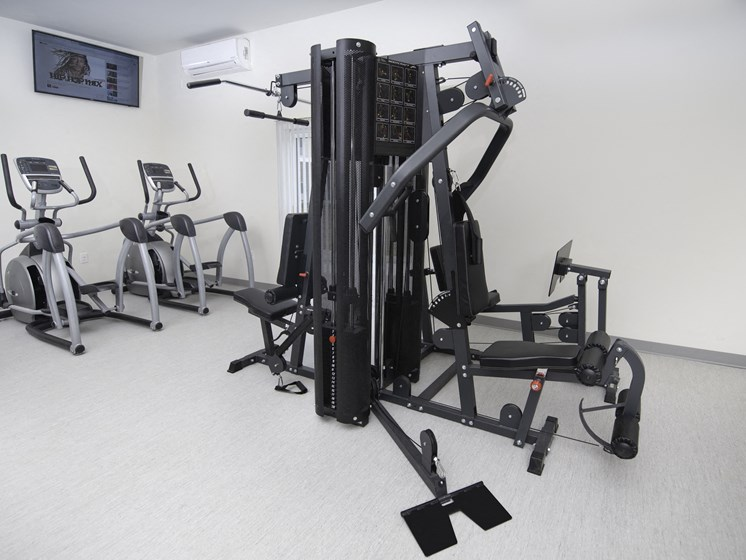 Fitness Center With Modern Equipment at Steedman Apartments, MRD Conventional, Ohio