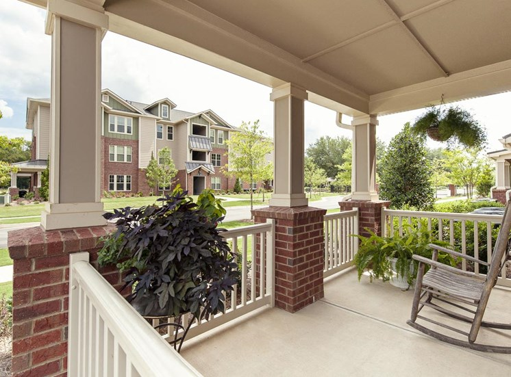 Private Porch at Walton Oaks, Georgia