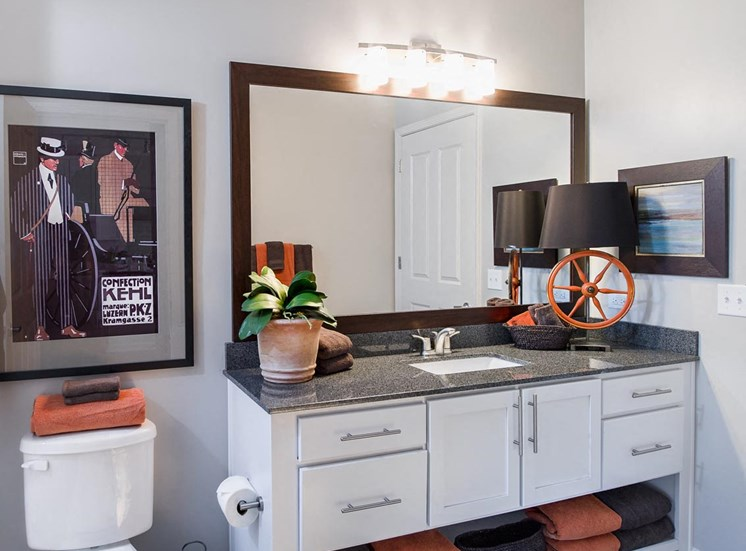 Luxurious bathrooms at Westside in Georgia, 30318
