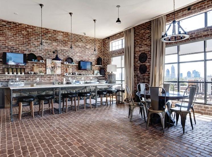 Urban brick design clubhouse at Westside, GA 30318