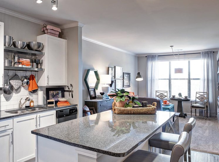 Spacious feeling kitchen at Westside, 790 Huff Rd. NW, 30318