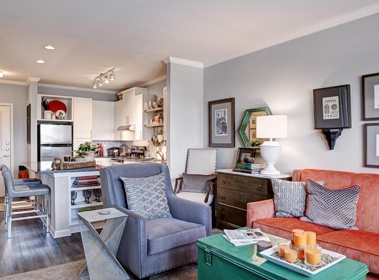 Urban apartments at Westside, Atlanta, 30318