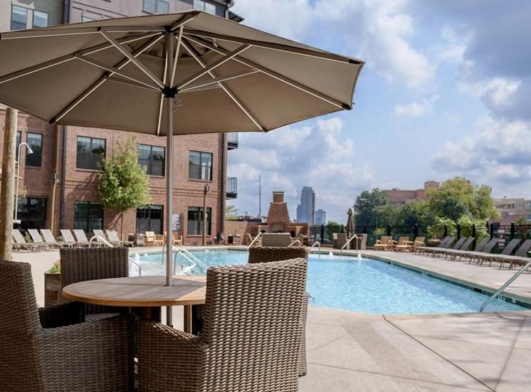 Resort-style pool at Westside,790 Huff Rd. NW , Atlanta