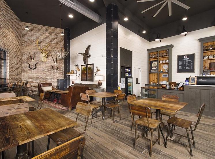 Urban chic coffee house at Westside, GA 30318