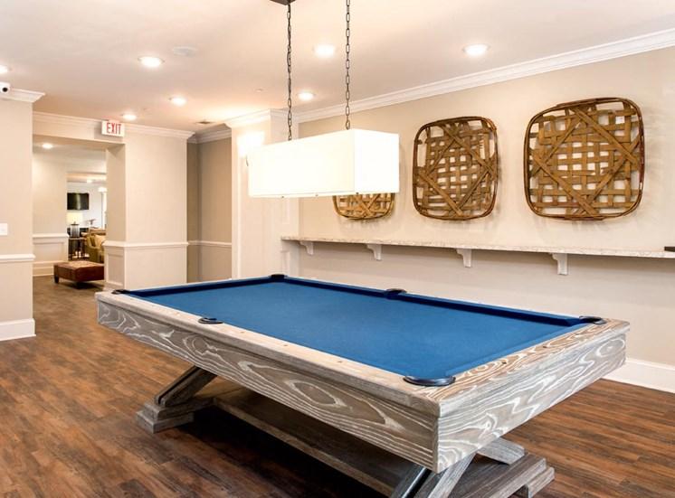 The Legacy at Walton Oaks Apartment Homes, Augusta GA Billiard Room