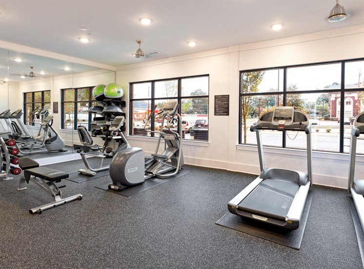 Fitness center at Legacy at Walton Summit, GA 30501