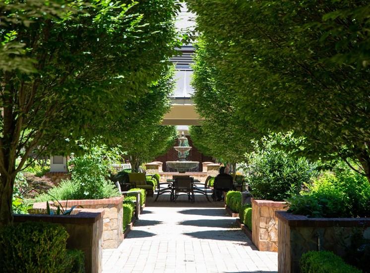 The Legacy at Walton Overlook Apartment Homes, Acworth GA Fountain Courtyard
