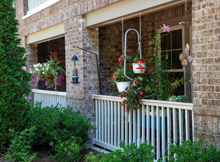 The Legacy at Walton Park Apartment Homes , Acworth GA Patios and Balconies