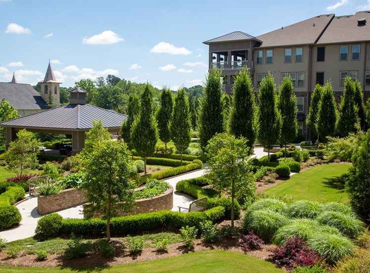 The Legacy at Walton Park Apartment Homes , Acworth GA Courtyard