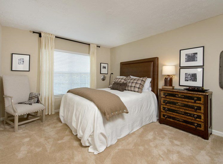 Walton Grove Model Apartment Bedroom, Smyrna GA