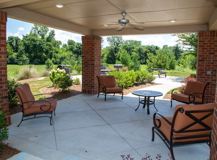 The Legacy at Walton Oaks Apartment Homes, Augusta GA Outdoor Seating